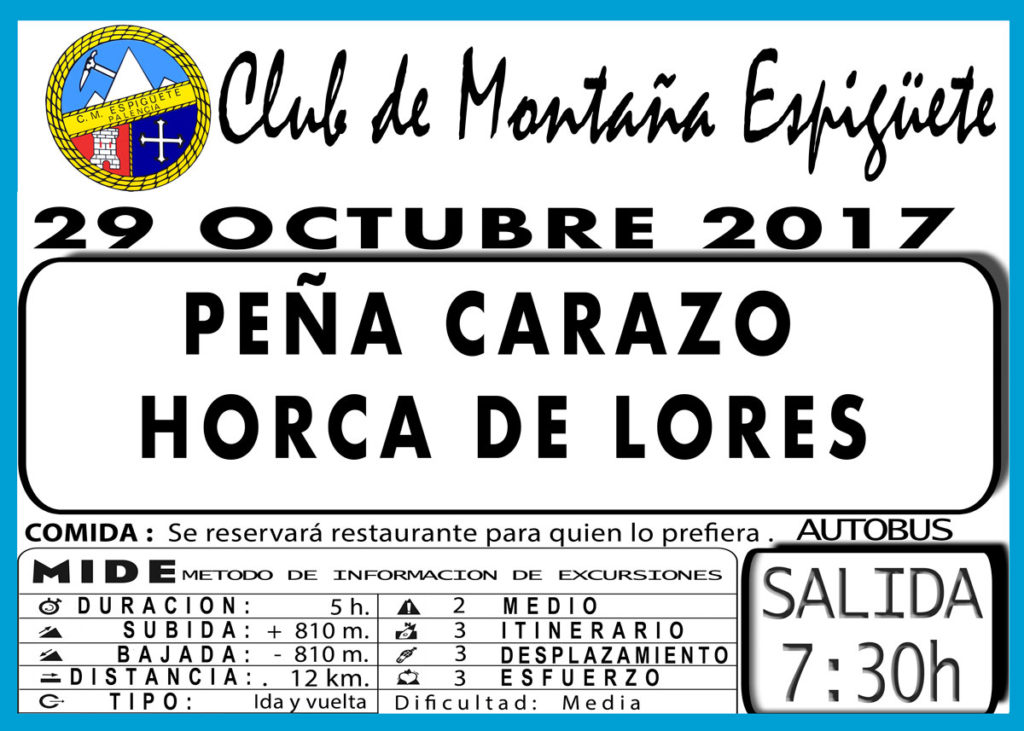 CLUB MONTAÑA ESPIGÜETE